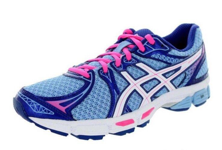 Asics Femme Gel-Exalt 2 T4B6N Athletic Running Dentelle chaussures Taille 8 bleu blanc