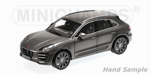 grey met. Minichamps 1:43 Porsche Macan 2013