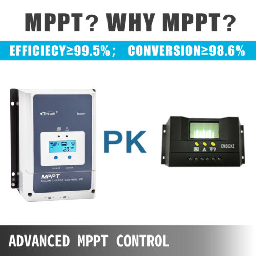Solar Panel Controller MPPT Charge Controller Solar Charge Controller 50 Amp