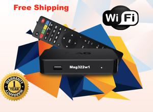 Original-Infomir-MAG322W1-Mag-322W1-IPTV-Set-top-box-Builtin-WIFI-Free-Shipping