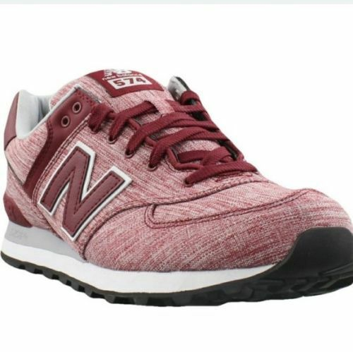 NEW BALANCE 574 TRAINING LOW SNEAKER MEN SHOES MERCURY RED L574TXG SIZE 9.5 NEW