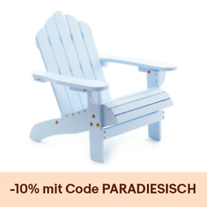 Kinderstuhl Schaukelstuhl Stuhl Holz Pastell Blau Rosa Weiß Kinderzimmer