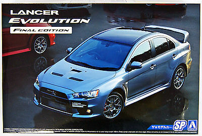 Aoshima 51641 Mitsubishi CZ4A Lancer Evolution X Final Edition '15 1/24 NZA