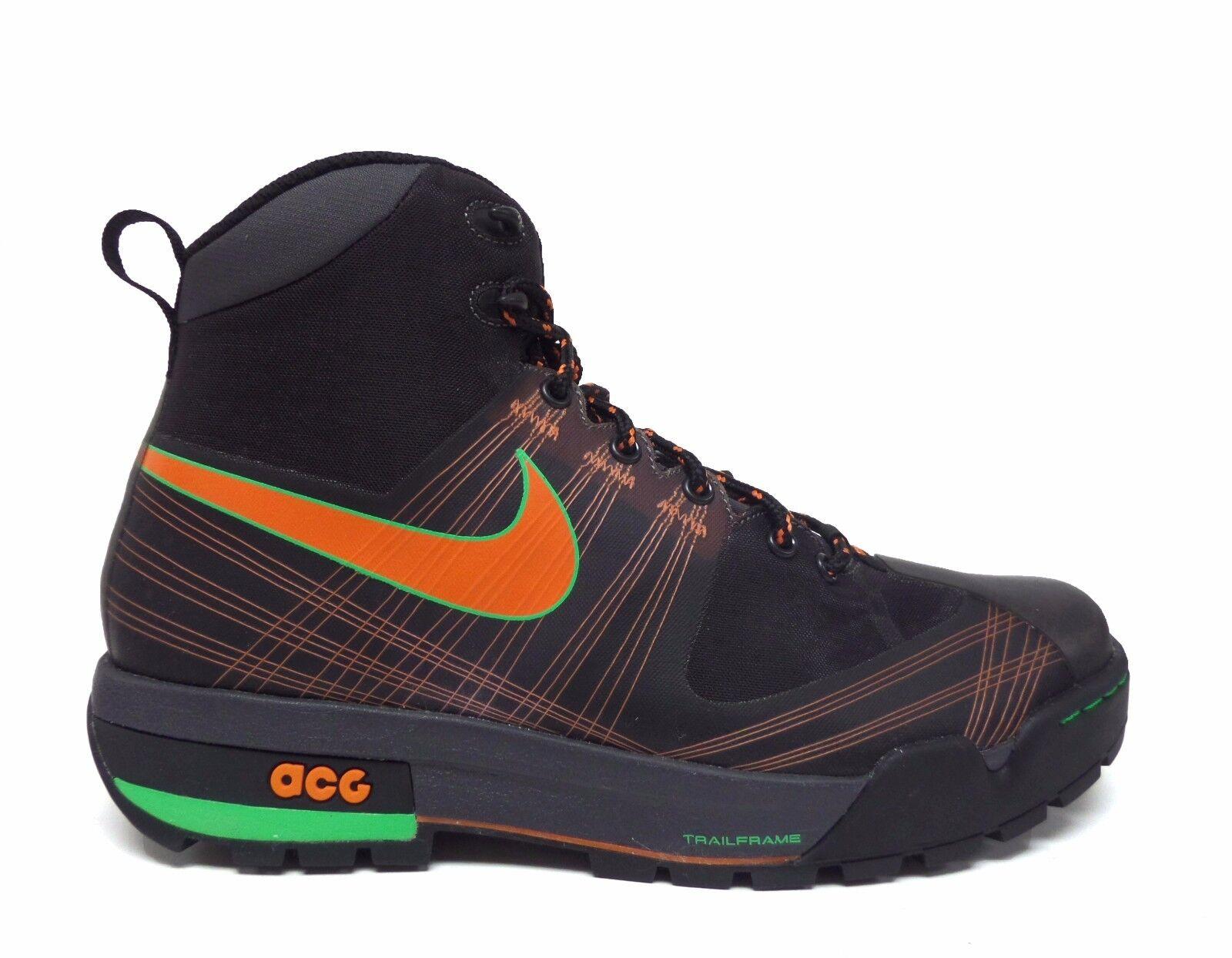 Nike uomini antracite zoom ashiko acg stivali antracite uomini / arancione / green scintilla 375726-081 a7 a6294b