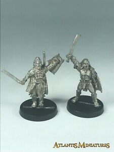 Metal-Uruk-Captain-amp-Lurtz-OOP-LOTR-Warhammer-Lord-of-the-Rings-X334
