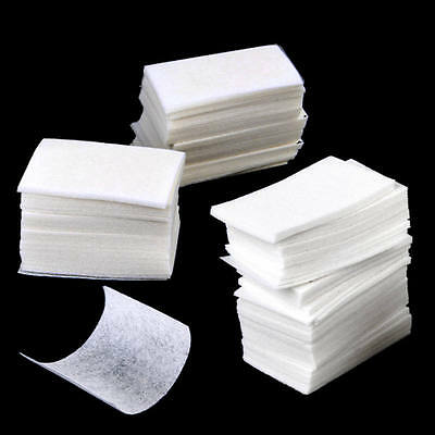 200PC Nail Art Wipes Paper Pad Gel Acrylic Tips Polish Remover Cleaner