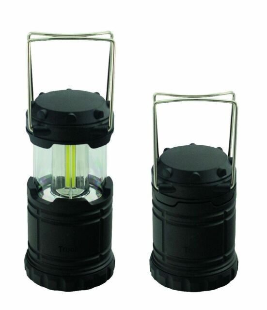 COB LED Collapsible Compact Camping Lantern Fishing Lamp Portable Light