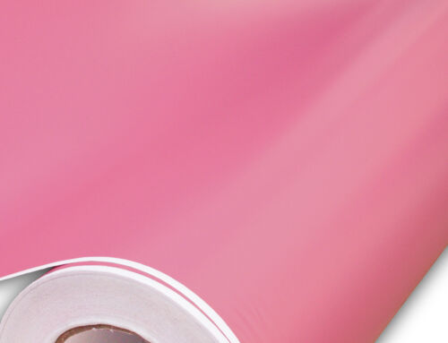 Matte Flat Pink Vinyl Car Wrap Auto Film Sticker Decal Sheet Roll
