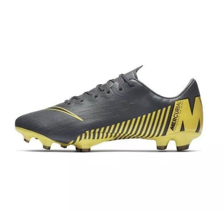Soccer  Cleats  Nike Mens Mercurial Vapor 12 Pro FG AH7382-070 Football Size 8