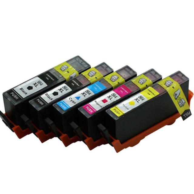 Compatible 564 XL Ink Cartridge For HP 564XL Deskjet 7510 6510 4610 C410 3520