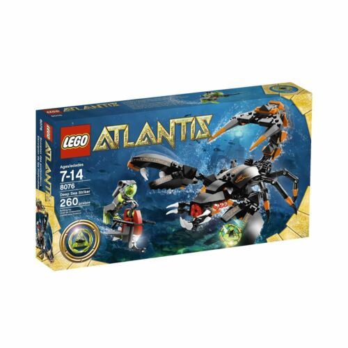 8076 DEEP SEA STRIKER lego legos set NEW atlantis retired