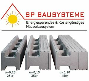 Passivhaus selbstbauhaus neoporsteine thermokeller ebay for Passivhaus bausatz