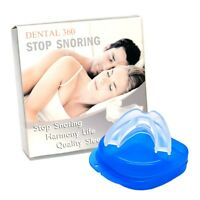 Stop Snoring Mouthpiece Anti Snore No Snore Sleeping Aid Night Tray Brand Us