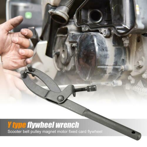 Y-type Magneto Fixed Clamp Flywheel Wrench Motorcycle Maintenance Tools