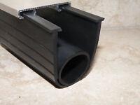 Garage Door Bottom Weather Seal - Super Seal - T Seal For 12' Doors - 1/4 T