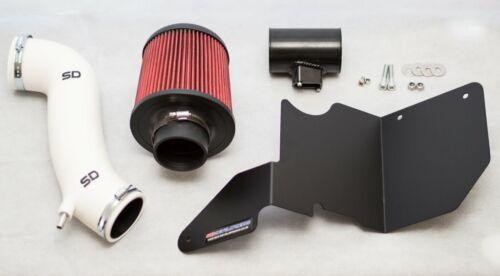SD PERFORMANCE Fiesta MK7 ST 180 V2 Induction Kit-Blanc avec bouclier thermique