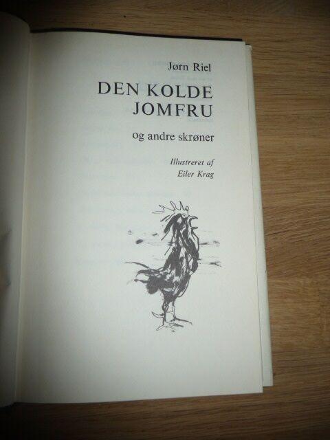 Den kolde jomfru og andre skrøner, Jørn Riel, genre: roman