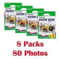 Fujifilm Instax WIDE Film 80 Fotos Película fotográfica instantánea 210 300
