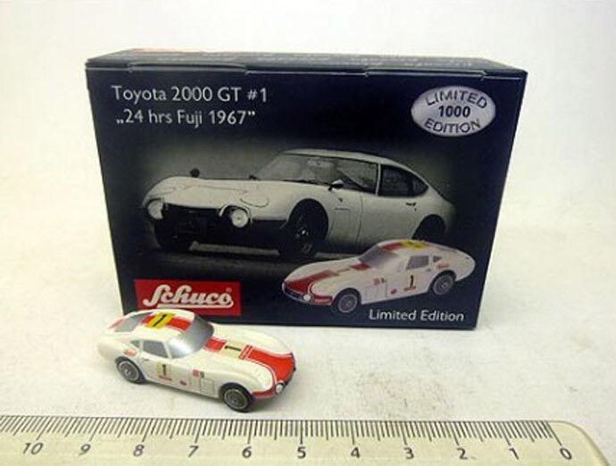 05687 schuco piccolo 1 90 toyota 2000 GT  1 24 HRS Fuji 1967