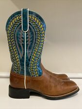 Ariat Womens Quickdraw Vent TEK Gingersnap//Turquoise Boot 10019903