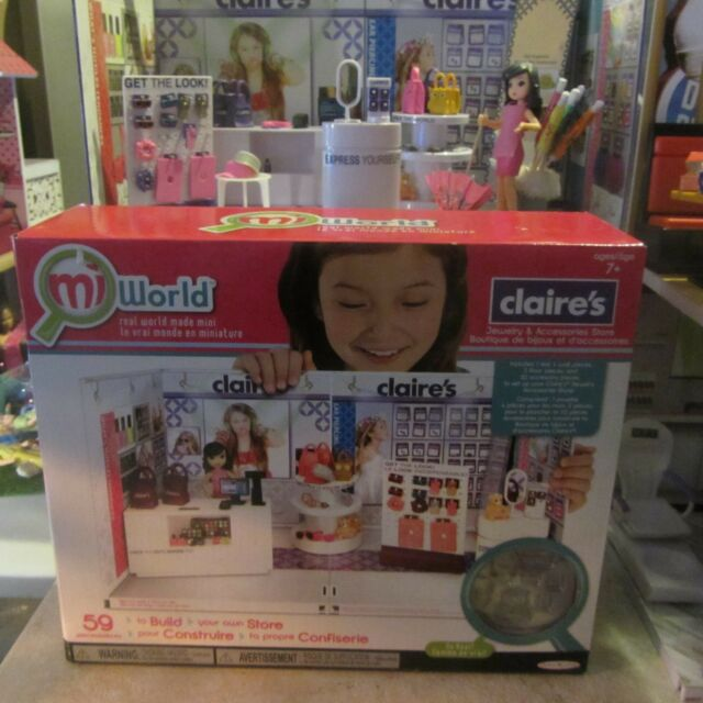 Miworld Deluxe Claires Jewelry and Accessories Environment Set 59