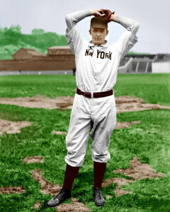 Christy-Mathewson-7-Photo-8X10-1904-Giants-COLORIZED