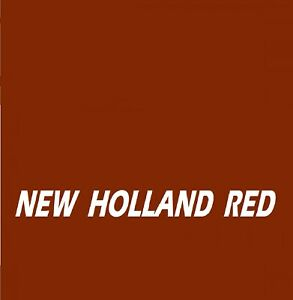 NEW HOLLAND RED Tractor Agricultural & Construction Enamel Gloss Paint
