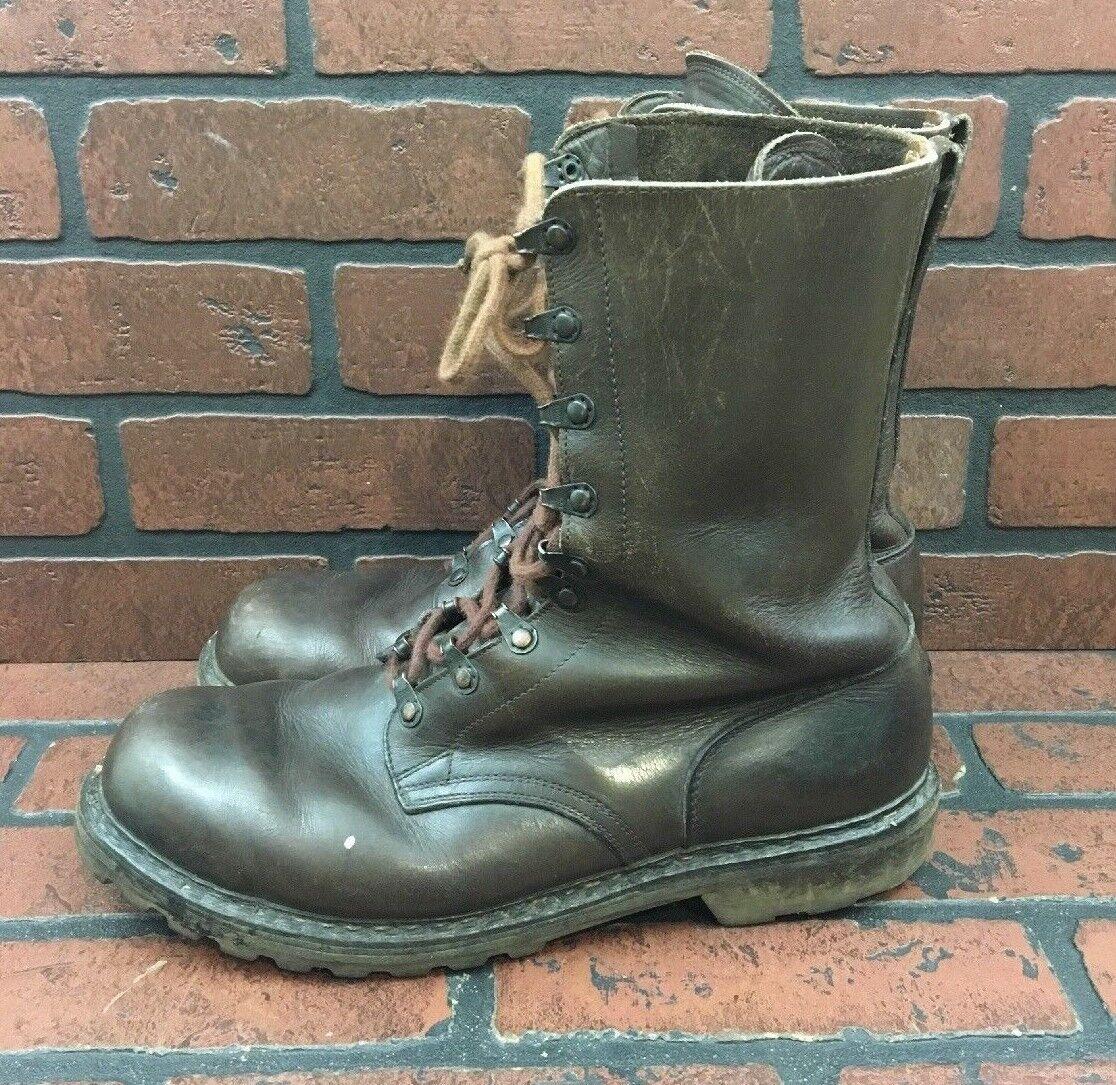 Continental Marrone Lace Up Up Up Work stivali Steel Toe Uomo Dimensione EUR 45 US 12 c57e17