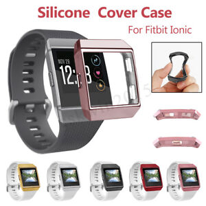 Silicone-Rubber-Frame-Skin-Cover-Protective-Case-For-Fitbit-Ionic-Smart-Watch
