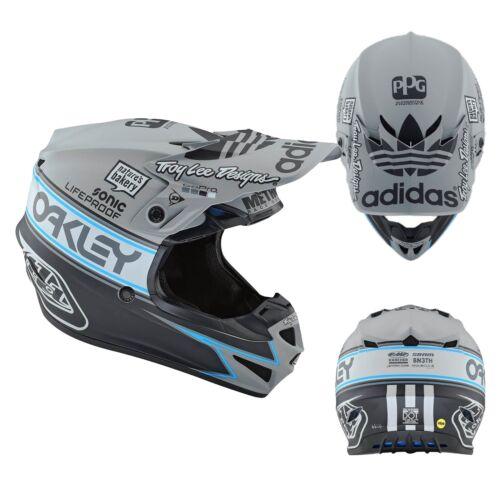 Troy Lee Designs Casque SE4 Équipe Édition Mips MX Enduro Motocross Cross Gris