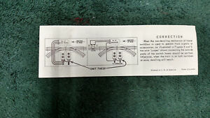 Lionel 1312 Correction 022 Switches 153 151 Instructions