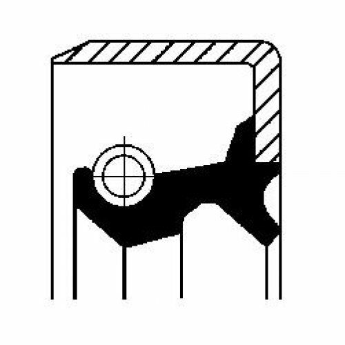 wheel hub 12015943B CORTECO Shaft Seal