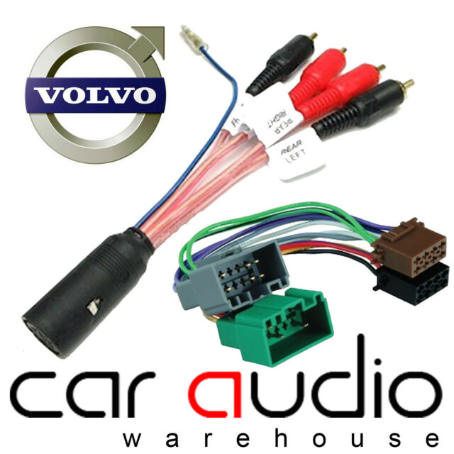Connects2 CT20VL02 Volvo V40 00/> Car Stereo Radio ISO Harness Adaptor Wiring