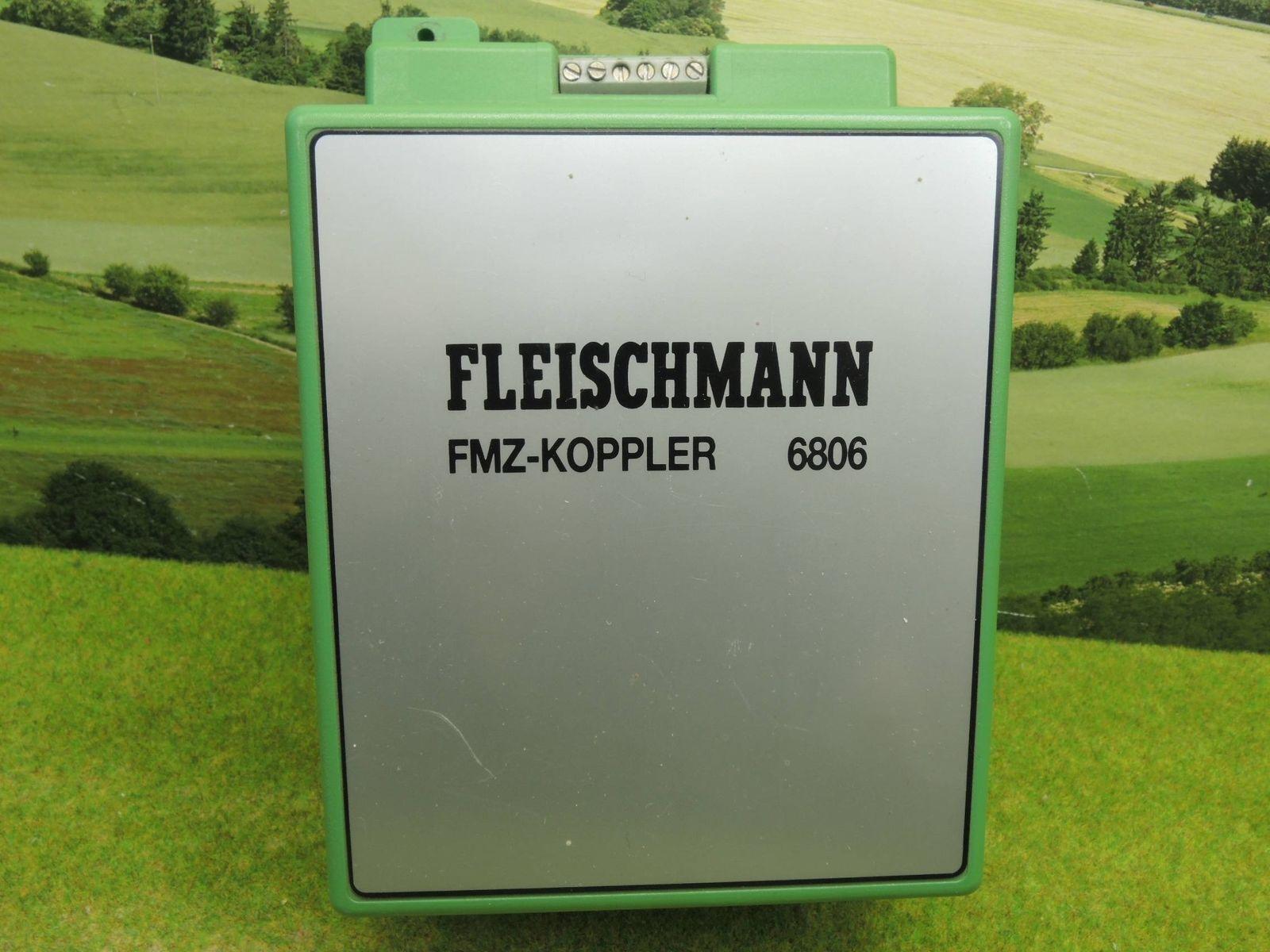 1-6806 FMZ-FLEISCHMANN KOPPLER COUPLEUR x FMZ USATO COME da FOTO