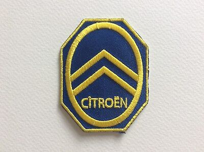 A078 PATCH ECUSSON CITROEN VINTAGE 7,5*6 CM