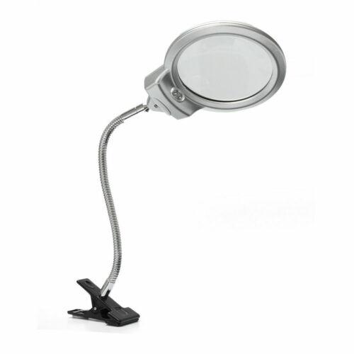 LED Lupe Desk Vergrößerungslampe Lupenleuchte Arbeitslampe Standlupe Kosmetik XS