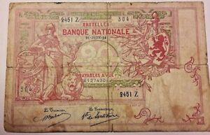 20-Francs-1914-20-Frank-1914-Billet-Belgique-Belgie-Belgium-Banknote-21-06-14