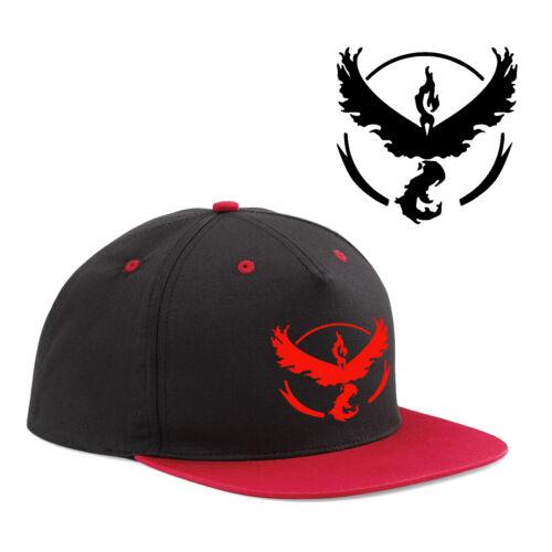 Pokemon Go Baseball Hat Team Mystic Instinct Valor Blue Yellow Red Cosplay Cap