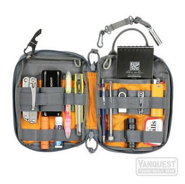 VANQUEST Everyday Carry Maximizer EDCM-SLIM 2.0 EDC Organizer Pouch UPGRADED