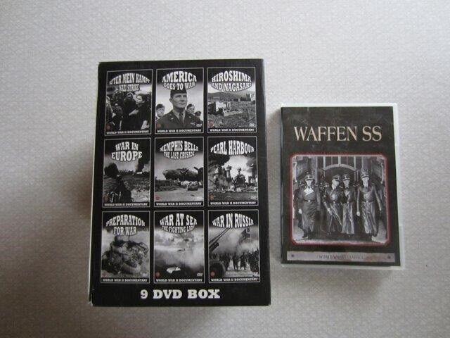 Verden i krig + WAFFEN SS Gestapo, instruktør Jeppe Søe, DVD