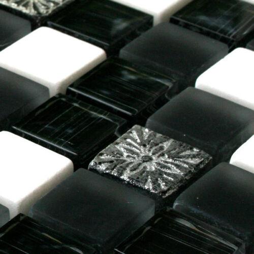 MUSTER von Glasmosaik Marmor Natursteinfliesen Toronto für Küchenfliese Bad WC