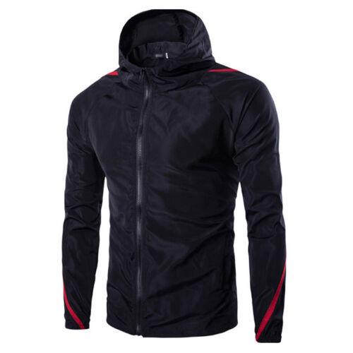 Walk Wind New Jacket Biker Motorcycle Waterproof Casual Men/'s Rain Outdoor Coat