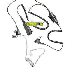Doppio PTT Auricolare per 2 PIN MOTOROLA RADIO cp040 gp300 dtr550 ct450 XTN-ID