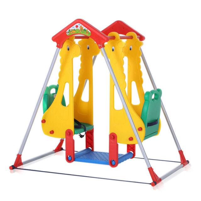 Columpio Infantil Spielplatzschaukel de Jardín Doble Nuevo Baby Vivo