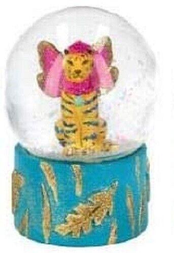 Gisela Graham Fantasy Tiger or Elephant Medium Snow Globe Dome 20288