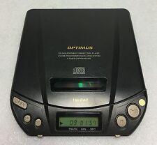 Super Rare Working Optimus Portable CD Player CD-3400 - Vintage Audiophile 1993