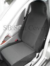 Honda crv/hrv/crz Asiento Auto Cubre Oem gris antracita Paño Tejido - 2 Frentes