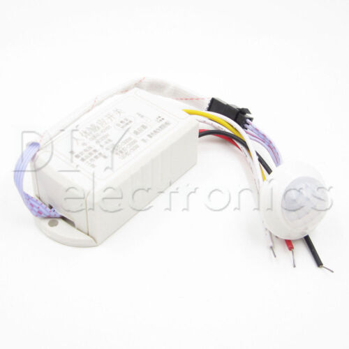 110//220V IR Infrared Motion Sensor LED Lamp Ceiling Wall Automatic Light Control