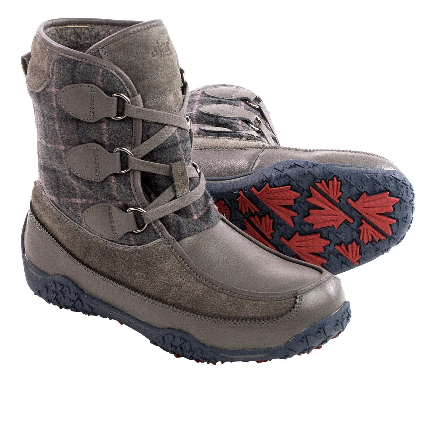 New Pajar Piper Snow Boots Waterproof, Insulated Dark Grey MSRP
