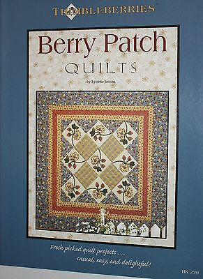 Thimbleberries Berry Patch Quilts Quilting Book/Pattern 40 PAGES Paperback NEW